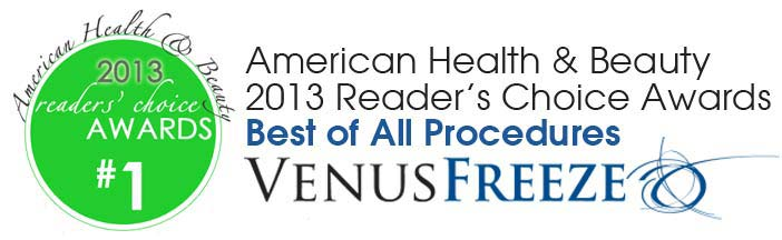 Venus Freeze Reader's Choice Award