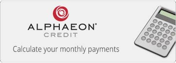 Alpheon Credit Calculator
