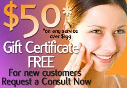 $50 Gift Certificate at New Radiance