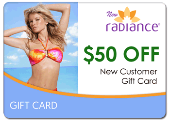 $50 New Radiance Palm Beach Card for New Customers